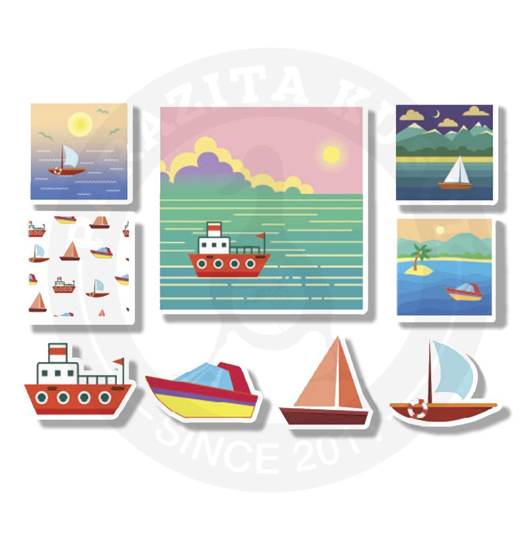 Кораблики и море<br>