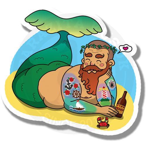 Бородатый русал<br>