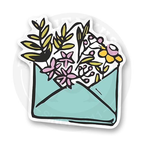 Цветы в конверте<br>