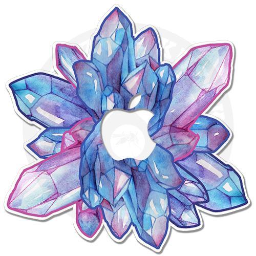 Фиолетовые кристаллы<br>