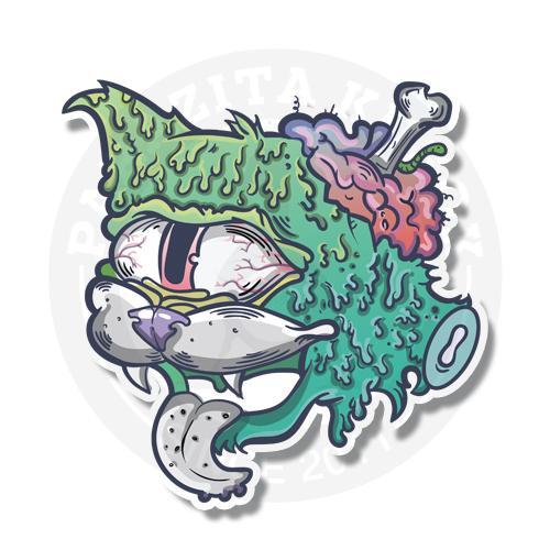 Котик зомби<br>