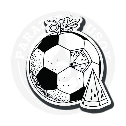 Футбольный арбуз<br>