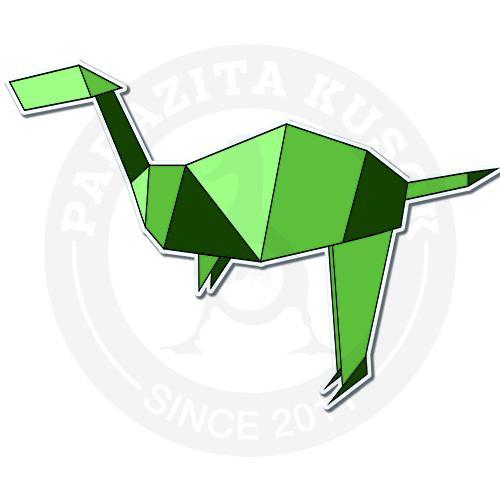 Динозавр-оригами<br>