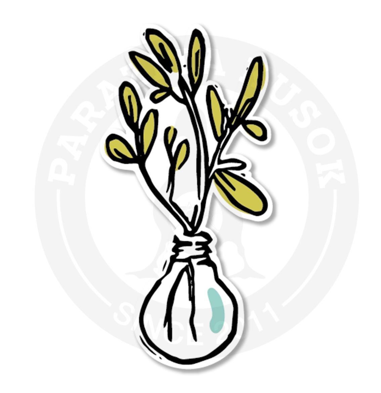 Цветы в стеклянной вазе<br>