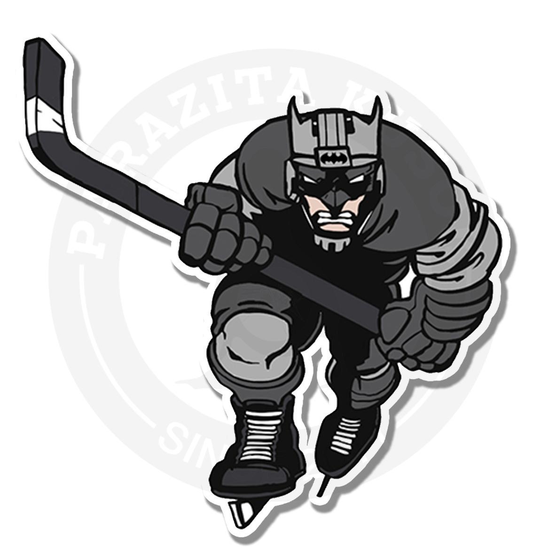 Бэтмен хоккеист<br>