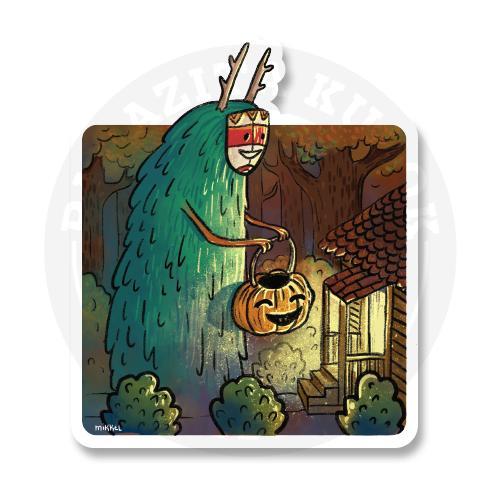 Лесные духи и Хеллоуин<br>