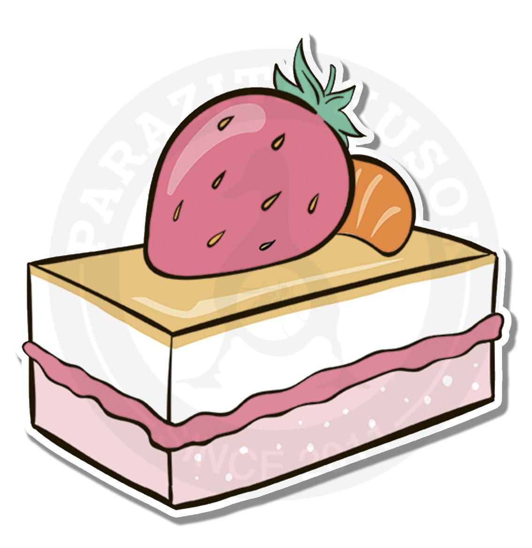 Клубничное пироженное<br>
