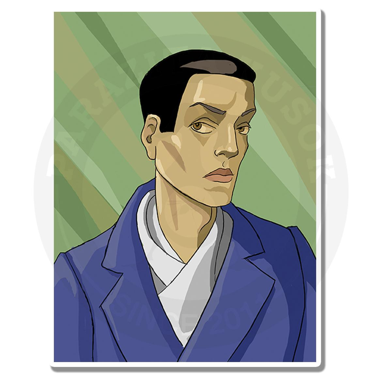 Портрет мужчины в стиле нуар<br>