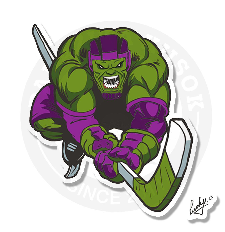 Халк хоккеист<br>