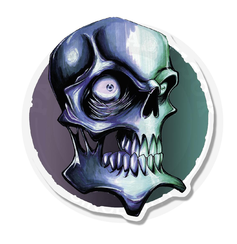 Фиолетовый череп<br>