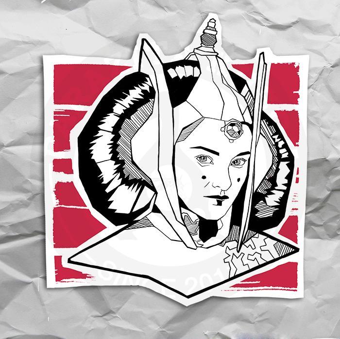 Принцесса Лея из Звёздых войн<br>