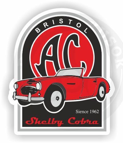 Старинная машина AC Cobra<br>