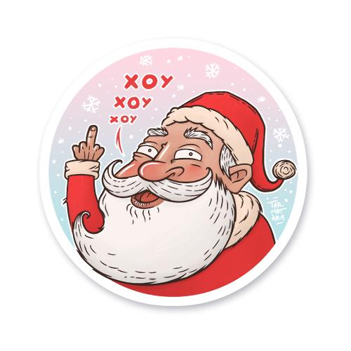Санта желает всем добра!<br>