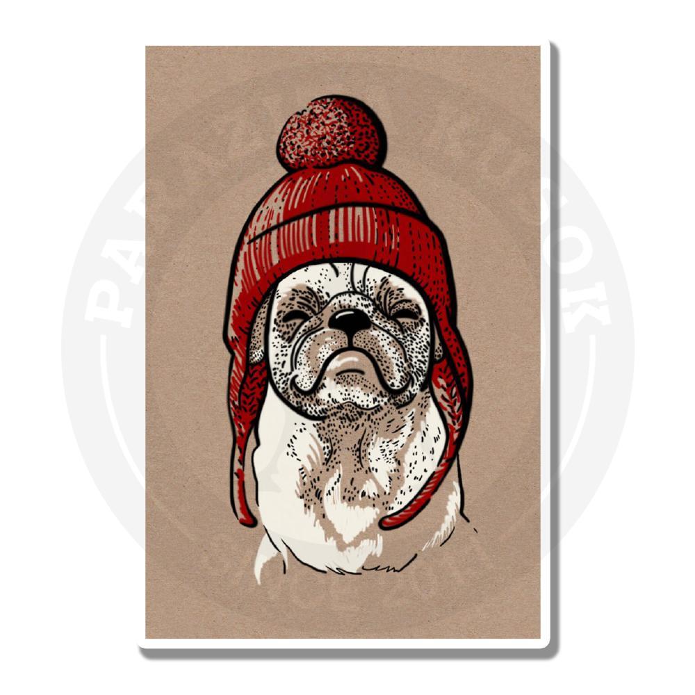 Мопс в красной шапочке<br>
