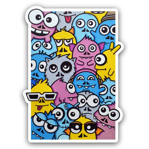 Doodle Monsters<br>