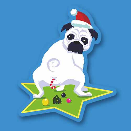Собака белая<br>