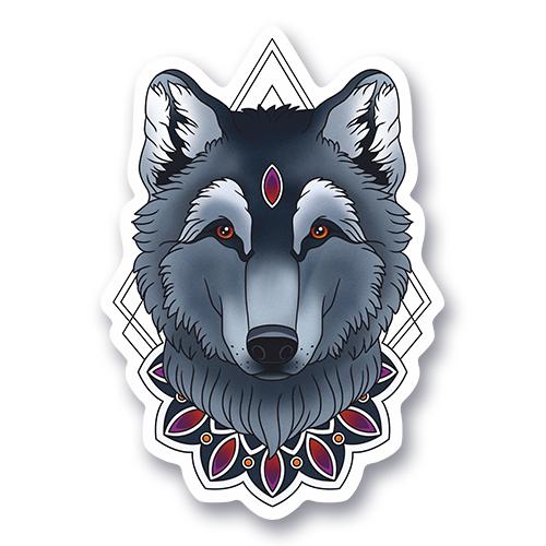 Волк Мандала<br>