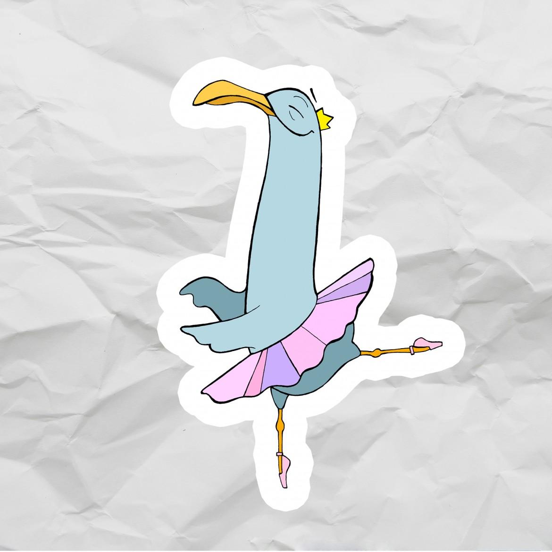 Чайка-балерина<br>