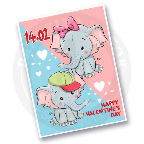 влюбленные слоны<br>