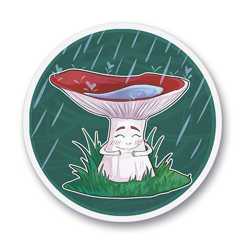 Маленький гриб<br>