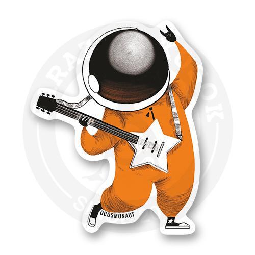 Космонавт с электрогитарой<br>
