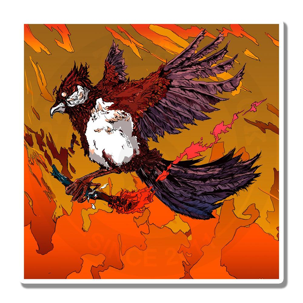 Птица, несущая огонь<br>