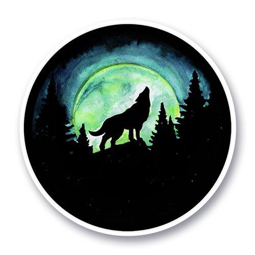 Волк и луна<br>