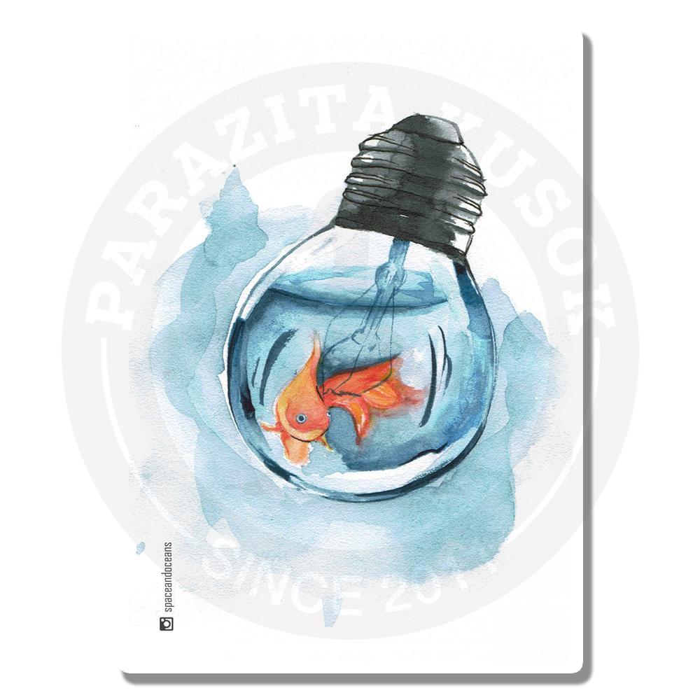 Рыбка в лампочке<br>