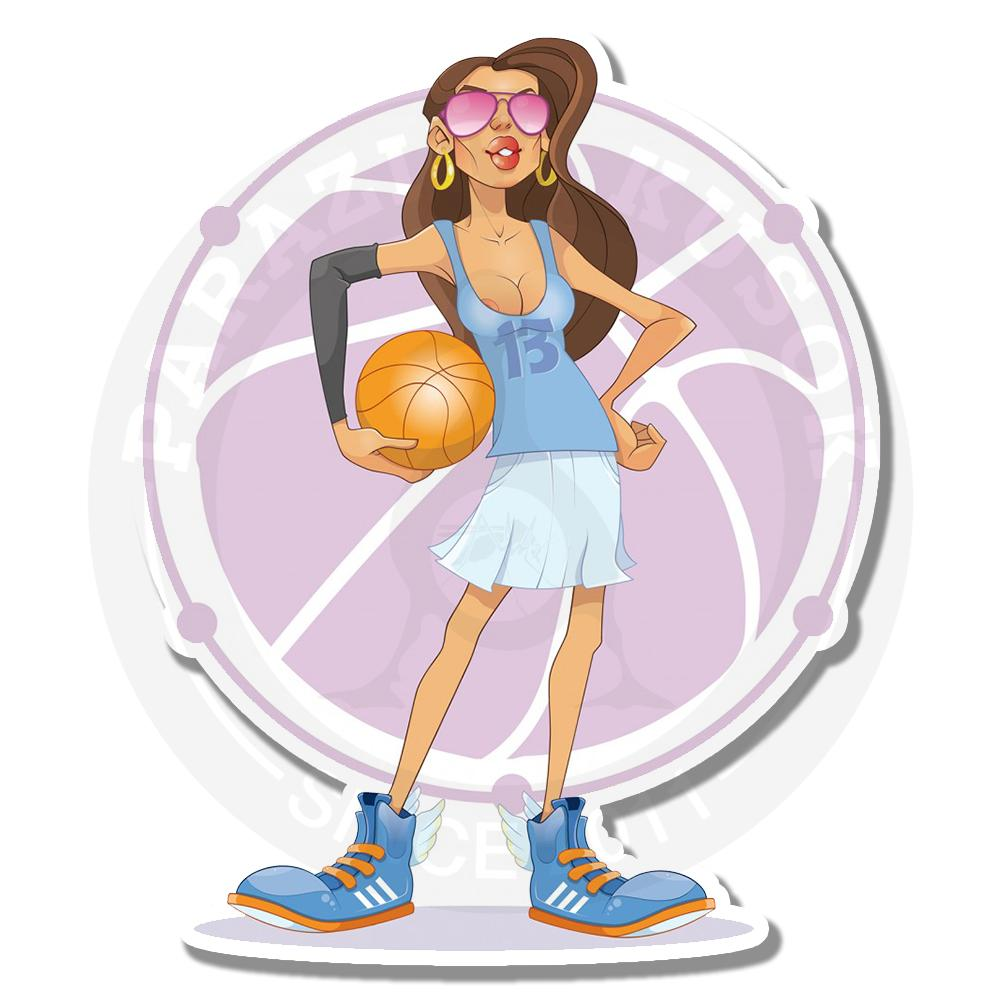 Горячая баскетболистка<br>