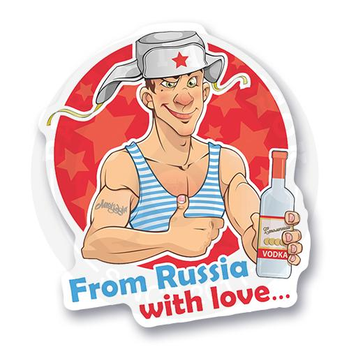 FROM RUSSIA WITH LOVE<br>