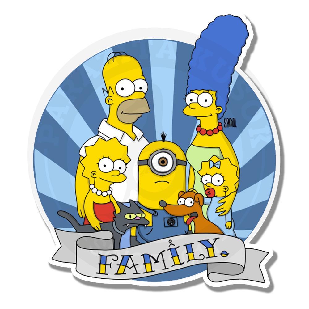 Новый член семьи Симпсонов<br>