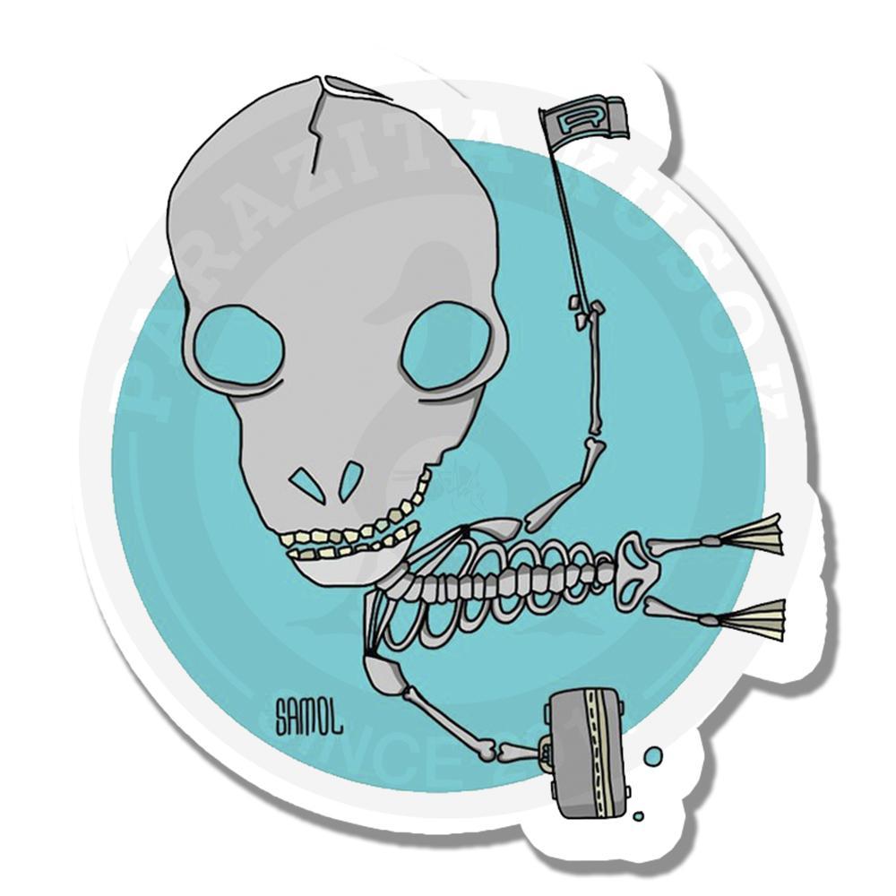 Скелет в отпуске<br>