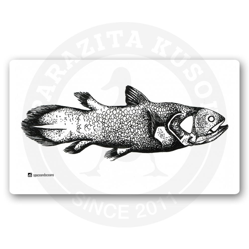 Древняя рыба латимерия<br>