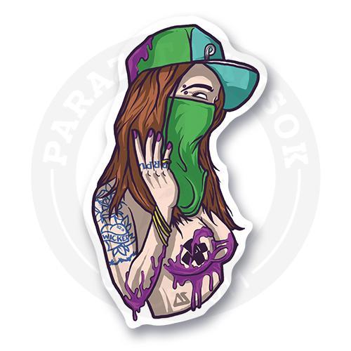 Пурпурная девочка<br>