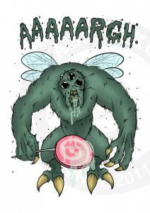 Зеленый Shy Monster<br>