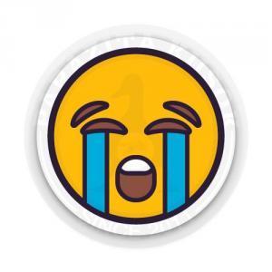 смайлик плачет<br>
