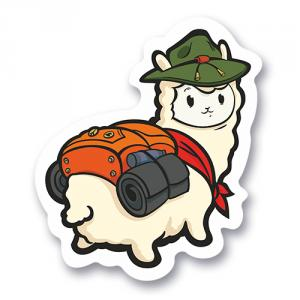 Милая альпака с рюкзачком<br>