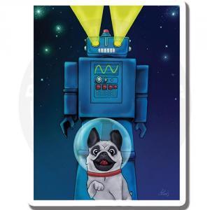 Пес и его верный робот<br>