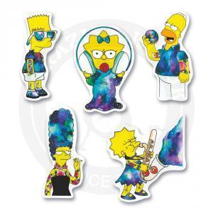 Набор стикеров Симпсоны / The Simpsons<br>