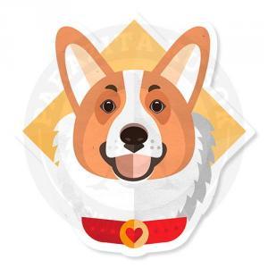 Внимательный пес корги<br>