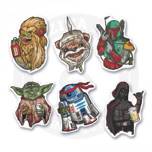 Набор стикеров Звездные Войны / Star Wars<br>