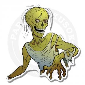 Интерьерные наклейки Зомби