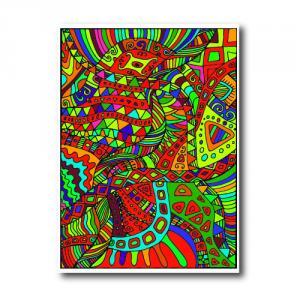 Абстрактный психоделический узор<br>