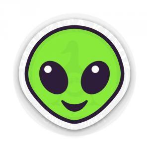 Смайлик-инопланетянин<br>