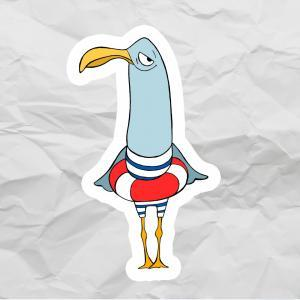Чайка-пловец<br>