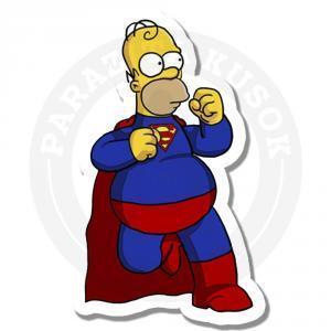 Стикер Супер Гомер / Симпсоны / The Simpsons<br>