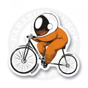 Космонавт на велосипеде<br>