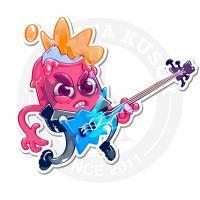 Гитарист-мороженное<br>