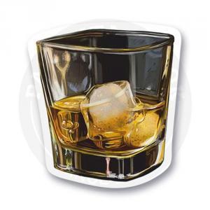 Стикер Бокал виски<br>