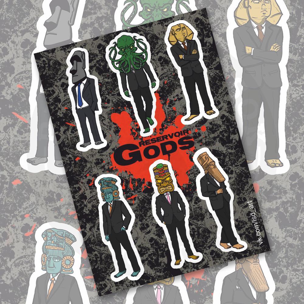 Стикерпейдж Reservoir Gods<br>